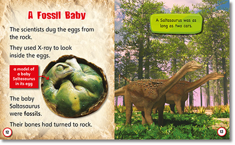 Dinosaurs Hatched spread