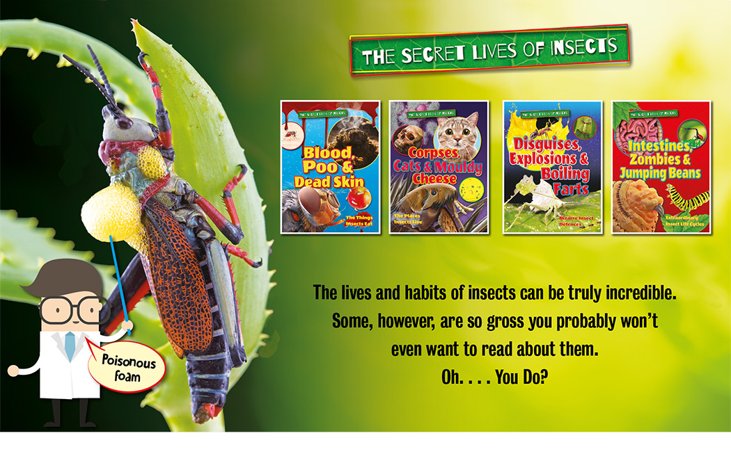 Secret Lives of Insects