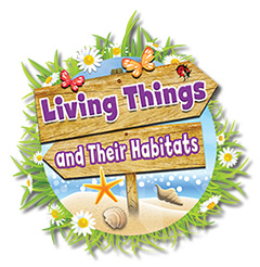 Living Things and their habitats logo