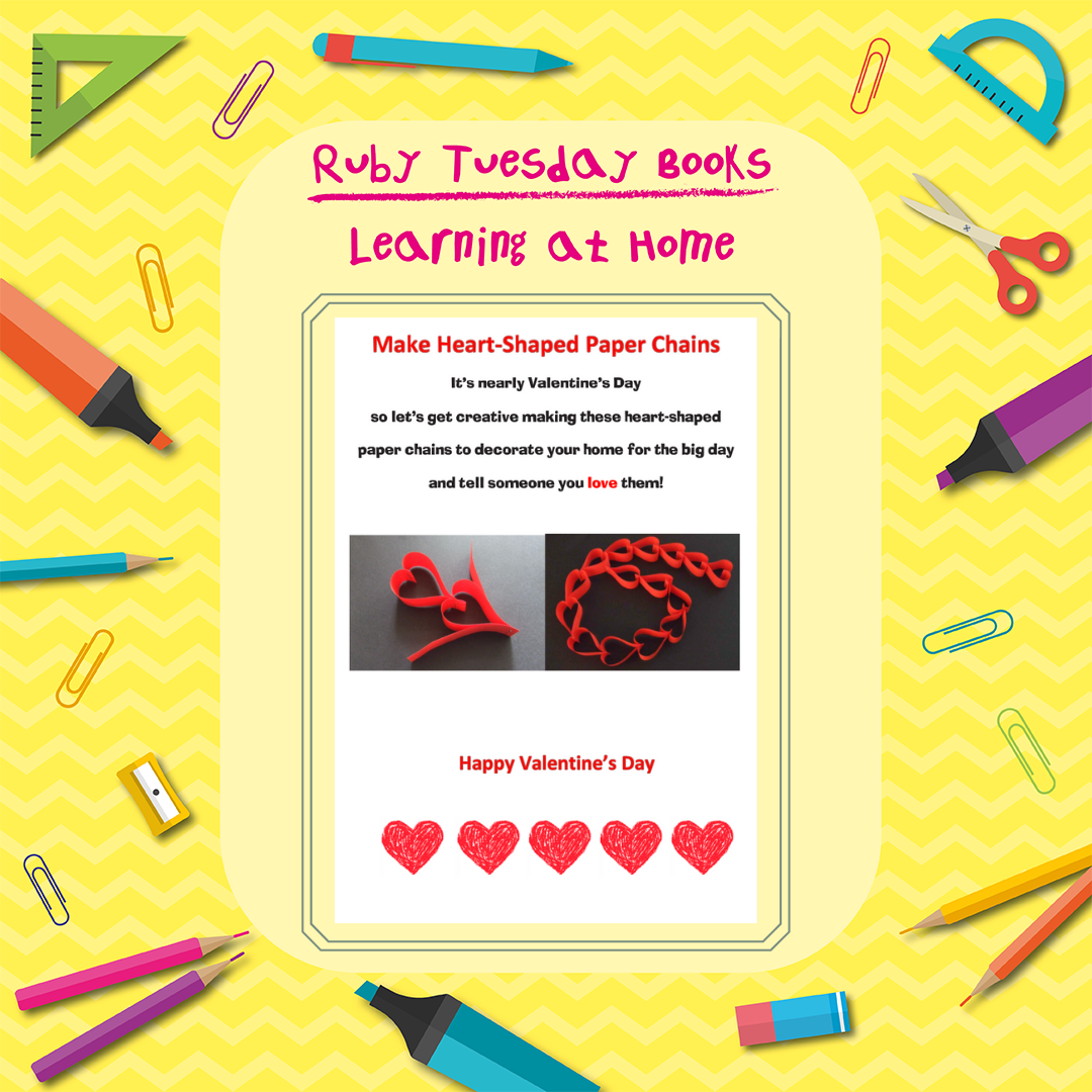 Learning at Home - Valentines Craft Activity