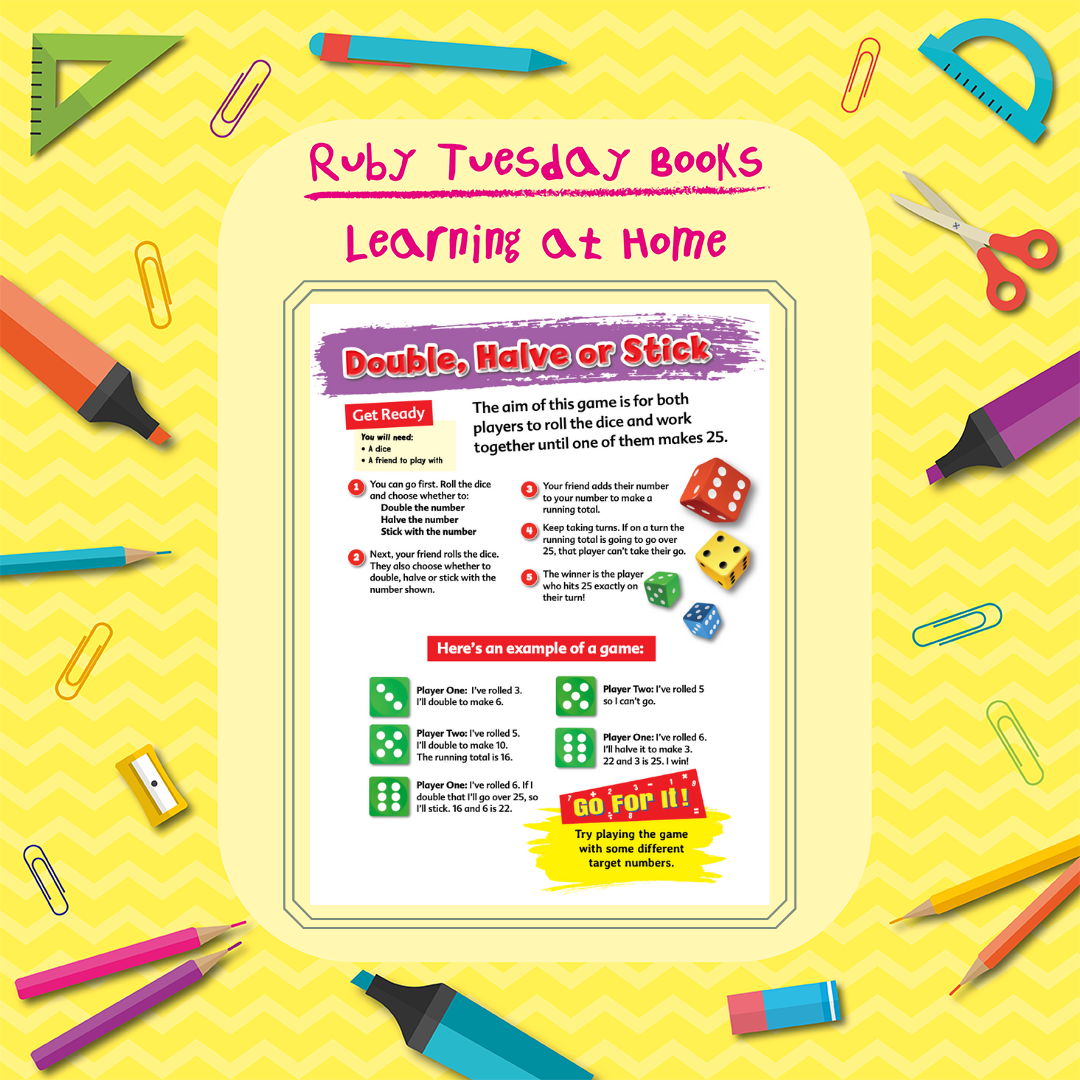 Learning at Home - Maths Activity