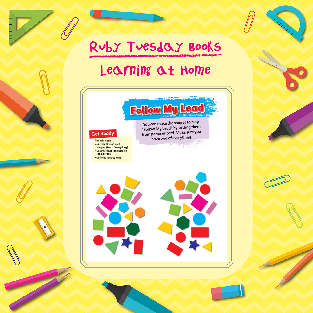 Learning at Home - Maths - Follow my Lead