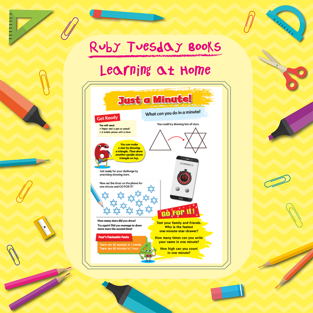 Learning at Home - Maths - Just a Minute