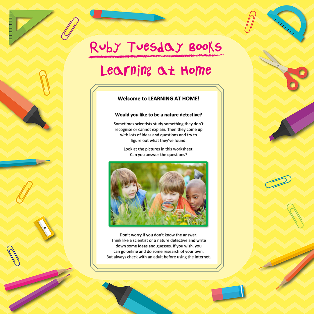 Learning at Home - Science - Nature Detective