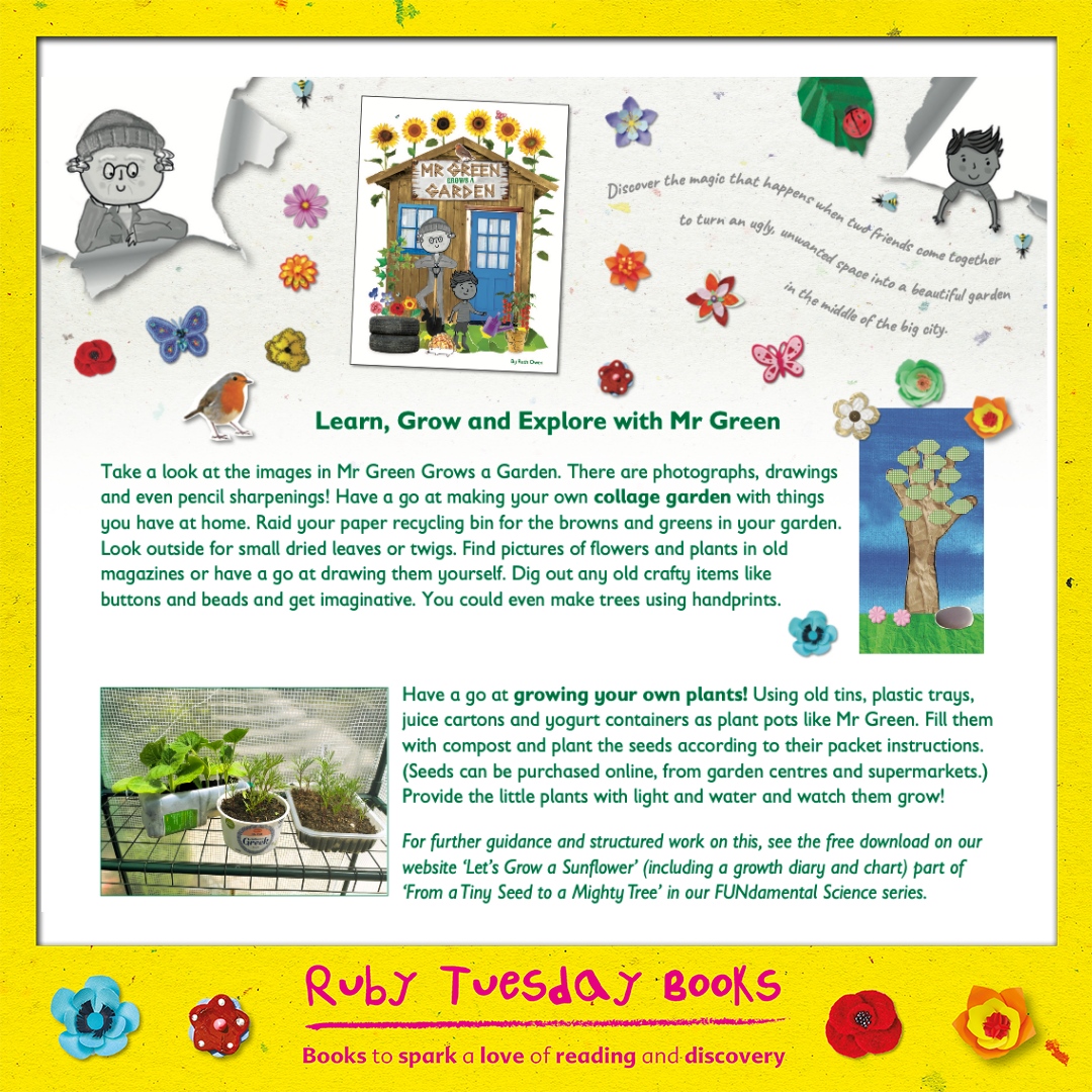 Mr Green Free Resources - Learn, Grow & Explore