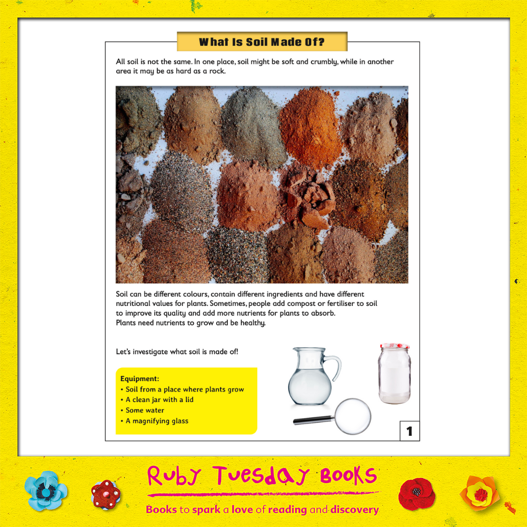 Mr Green Free Resources - What is Soil Made of?