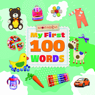 My First 100 Words New Board Book Early Years